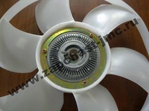 mufta v sbore s ventiliatorom